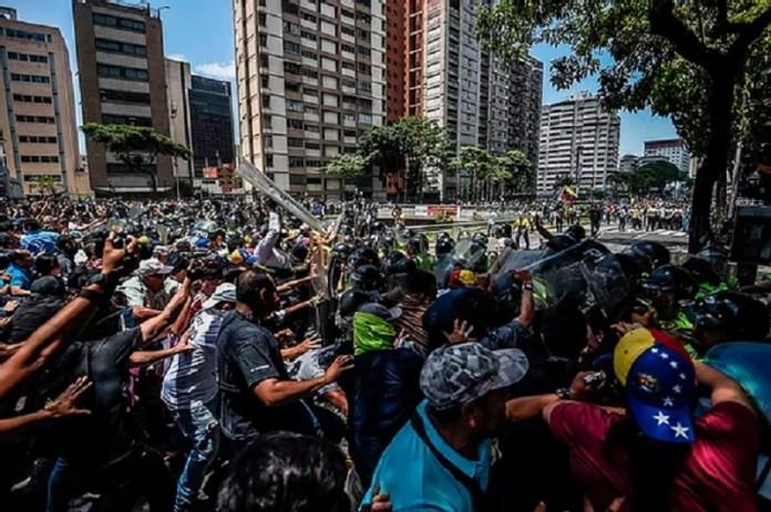 Venezuela remar sin rumbo
