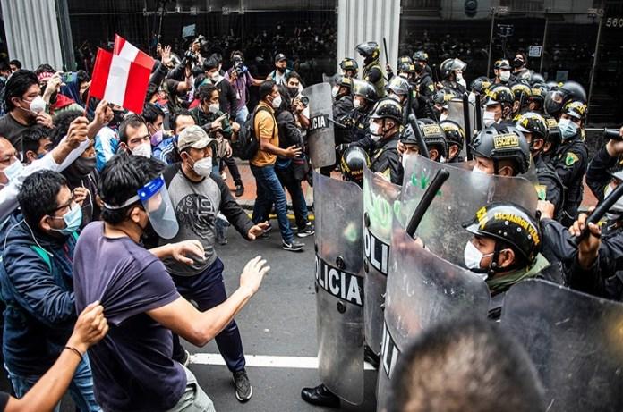 protestas Perú