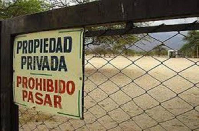 propiedad privada Venezuela