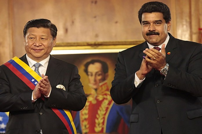 Maduro y presidente China
