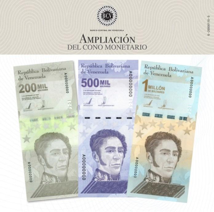 aviso billetes