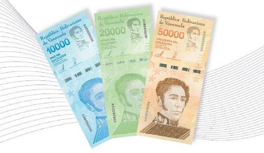 billetes cono monetario