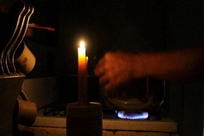 sin luz sistema eléctrico