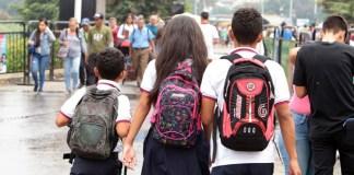 niños venezolanos frontera