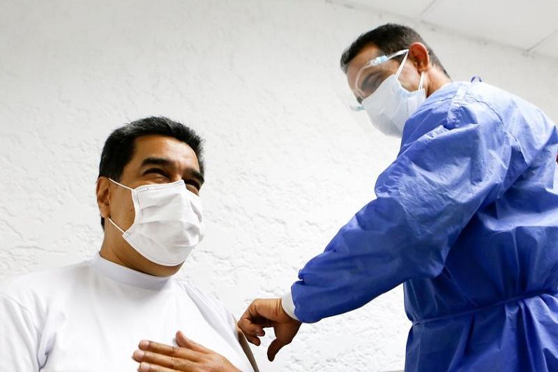 vacuna Maduro contagios