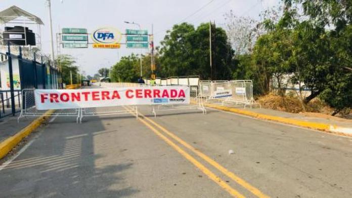 frontera cerrada