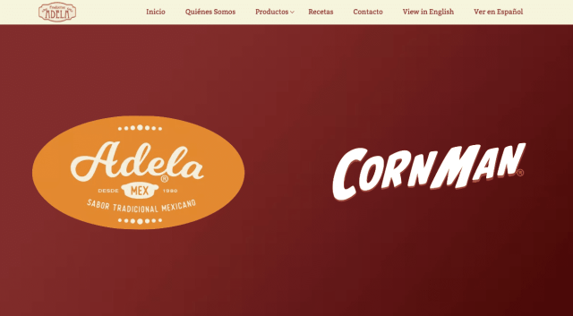 Productos Adela Website
