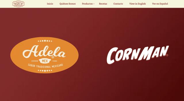 Productos Adela Website