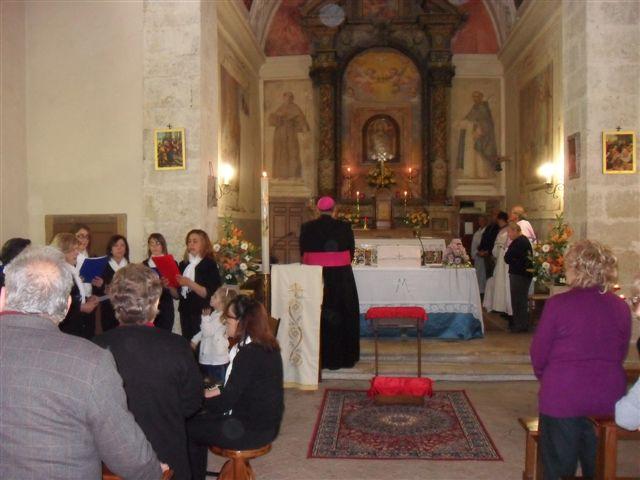 Mons. Mauro Parmeggiani a Orvinio