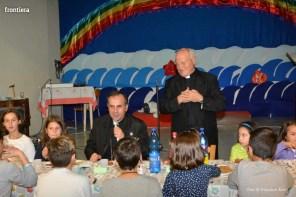 Mons Domenico Pompili a San Michele Arcangelo (Cena) 29 settembe 2015 foto Massimo Renzi 01