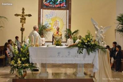 Mons Domenico Pompili a San Michele Arcangelo (Messa) 29 settembe 2015 foto Massimo Renzi 02