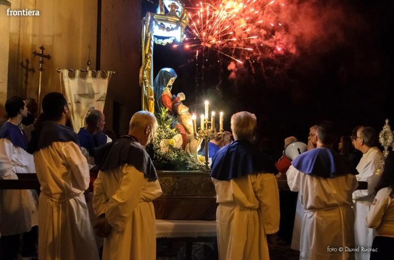 Processione della Madonna dell'Addolorata a Santa Rufina-30