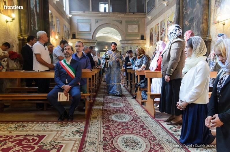 messa in onore del Santo Patrone della chiessa ortodossa Rieti-10