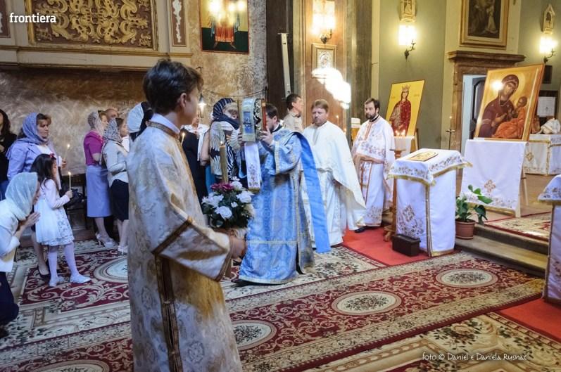 messa in onore del Santo Patrone della chiessa ortodossa Rieti-23