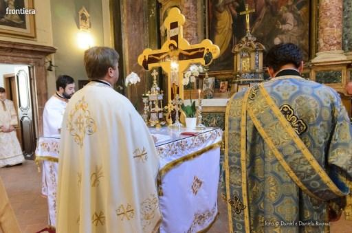 messa in onore del Santo Patrone della chiessa ortodossa Rieti-4