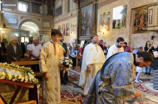 messa in onore del Santo Patrone della chiessa ortodossa Rieti-6