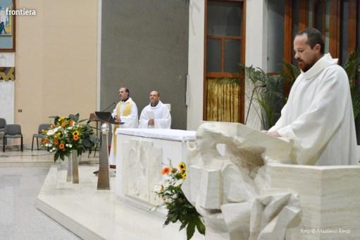 Incontro del Vescovo Domenico Pompili con i volontari della Diocesi foto Massimo Renzi 06