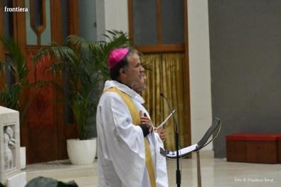 Incontro del Vescovo Domenico Pompili con i volontari della Diocesi foto Massimo Renzi 11