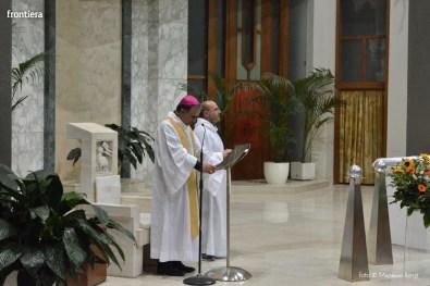 Incontro del Vescovo Domenico Pompili con i volontari della Diocesi foto Massimo Renzi 12