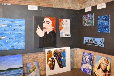 Santa-Barbara-2015-Inaugurazione-mostre-sotto-gli-archi-del-Comune-foto-Massimo-Renzi-02