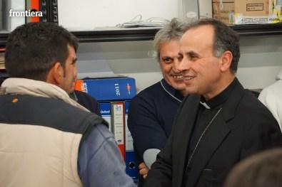 Visita del Vescovo Domenico in Telpress 17 marzo 2016 foto Fabrizi 24