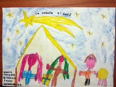 Il presepe di Francesco - Bambini della Scuola per l'infanzia di Canetra 02