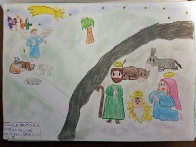 Il presepe di Francesco - Bambini di Borgovelino 07