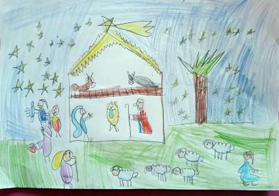 Il presepe di Francesco - Bambini di Santa Rufina 05