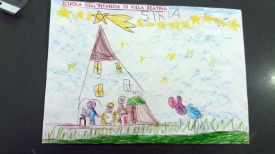 Il presepe di Francesco - Bambini di Villa Reatina 03
