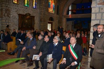 Inaugurazione Affresco Restaurato Greccio Grotta Presepe [16.12.2016] foto Massimo Renzi 04