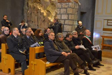 Inaugurazione Affresco Restaurato Greccio Grotta Presepe [16.12.2016] foto Massimo Renzi 08