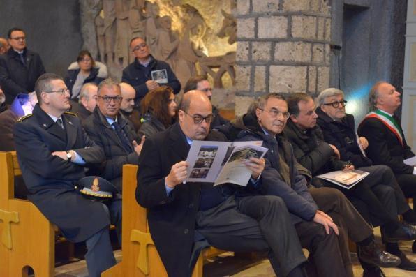 Inaugurazione Affresco Restaurato Greccio Grotta Presepe [16.12.2016] foto Massimo Renzi 10
