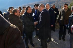 Inaugurazione Affresco Restaurato Greccio Grotta Presepe [16.12.2016] foto Massimo Renzi 21