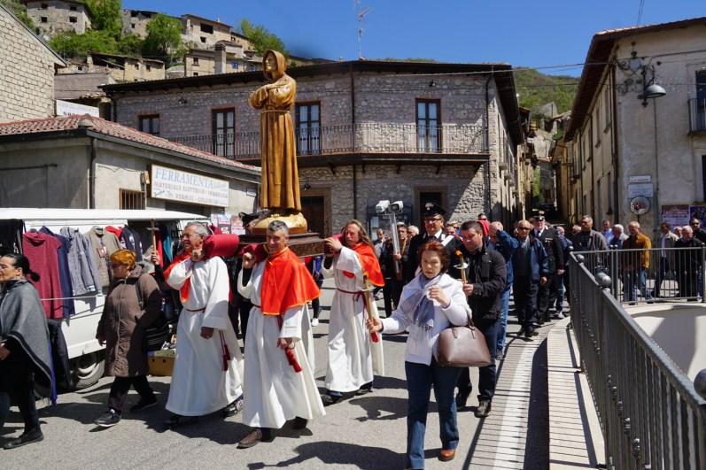 [23.04.2017] Festa del Cappuccio di San Francesco a Corvaro DSC04570