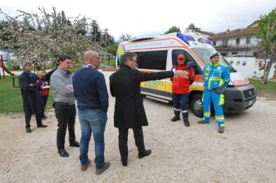 [28.04.2017] Inaugurazione ambulanza Misericordia ad Amatrice 12