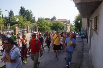 [02.08.2017] Poggio Bustone Cappella delle Beatitudini e Marcia del perdono DSC03892