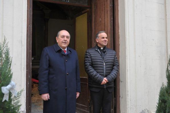 [24.12.2017] Inaugurazione Presepe Cappella di San Camillo Ospedale vecchio MAS_1983