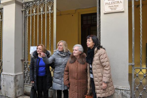 [03.02.2018] Intitolazione palestra di via San Liberatore a Paolo Rosi MAS_1854