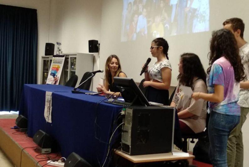 [28.05.2018] Incontro con Laura Tangherlini al Rosatelli 02