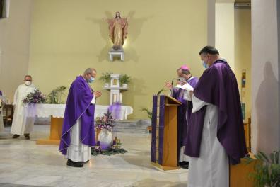 [28.11.2020] Ingresso nella parrocchia del Sacro Cuore di don Francesco Salvi DSC_3078