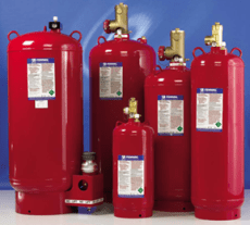 Frontier Fire Protection - Clean Agent Cylinders