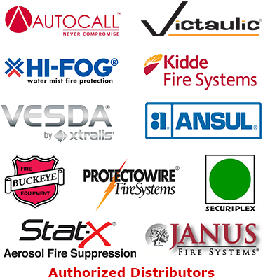 Frontier Fire Protection Authorized Distributor Logos