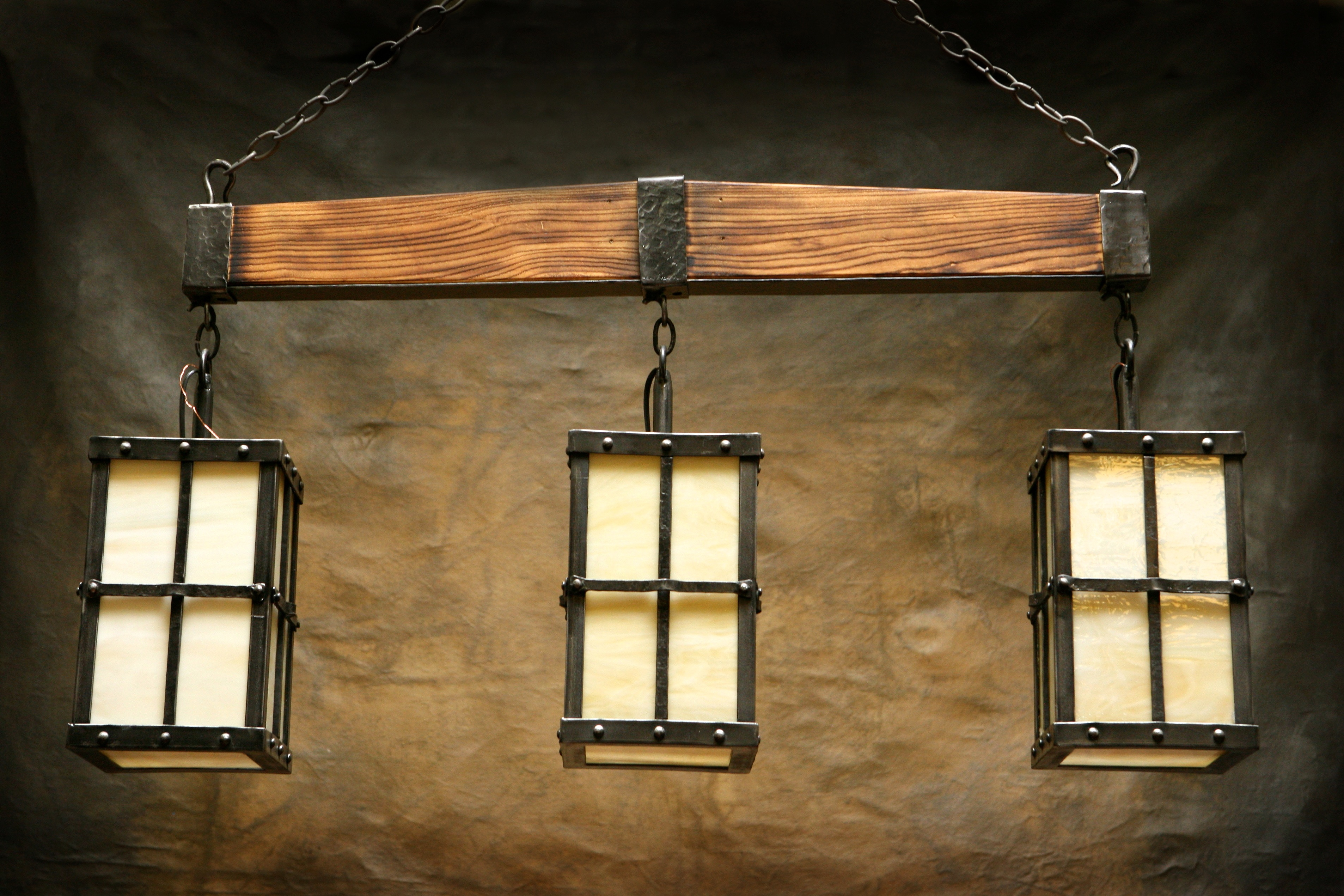 Mountain Pool Table Light Frontier Iron Works