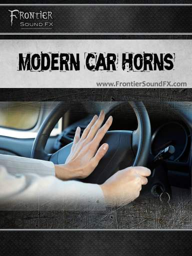 Modern Car Horns by Frontier Sound FX
