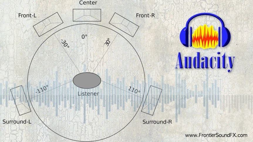 Surround Sound in Audacity 2 w Web Tag