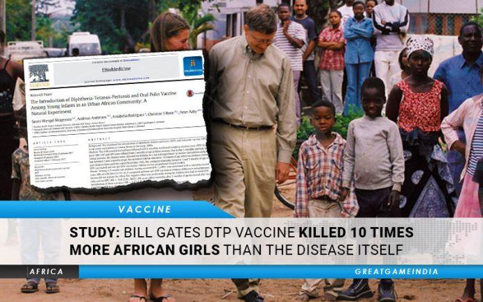 Studie: Bill Gates DTP-vaccin doodde 10 keer meer Afrikaanse meisjes dan de ziekte zelf