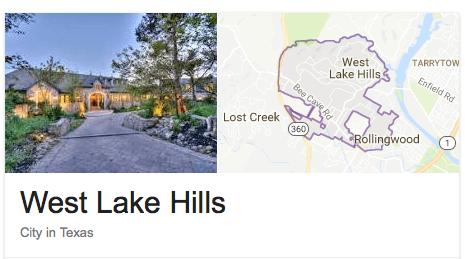 West Lake Hills Austin Homes for Sale