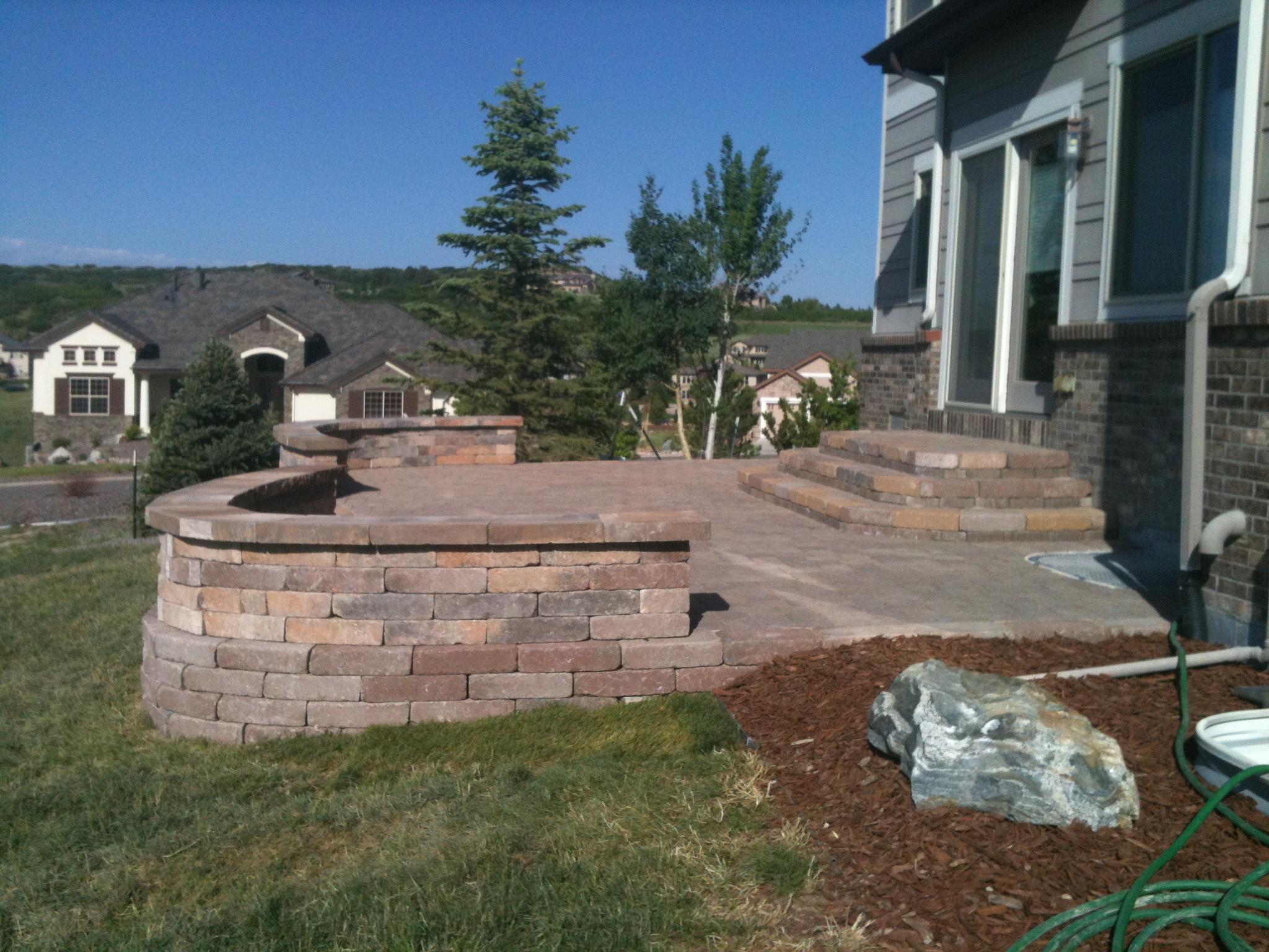 concrete patio landscaping co