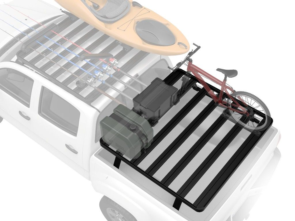 chevrolet silverado standard pickup truck 1987 current slimline ii load bed rack kit by front runner