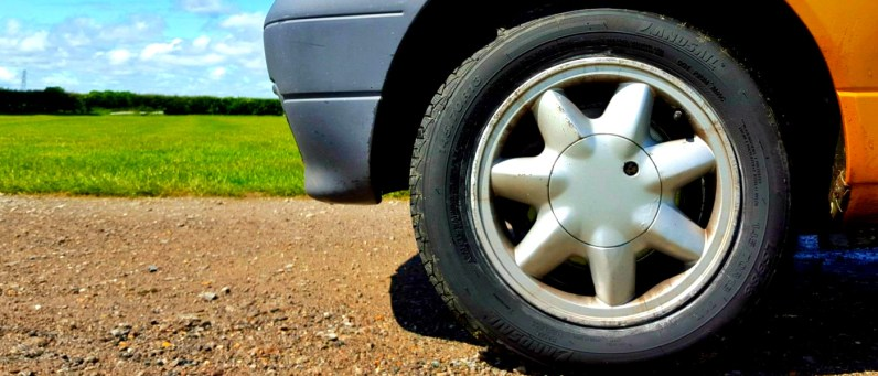 Landsail tyres and a Renault Twingo. Not an ideal combination for off-roading.